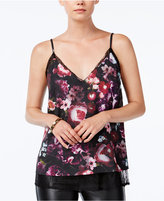 Bar III Printed Layered Camisole, Only at Macy's