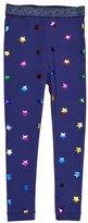 Stella McCartney Tula Star-Print Leggings, Blue, Size 4-14