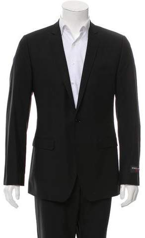 Dolce & Gabbana Virgin Wool Two-Button Blazer w/ Tags