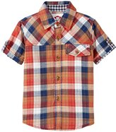 Appaman Harvey Shirt (Toddler/Kid) - Multi Plaid - 7