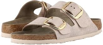 Birkenstock Arizona Big Buckle (Washed Metallic Rose) Women's Sandals