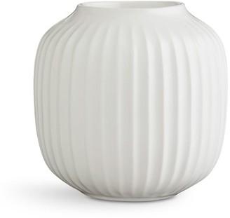 Pottery Barn Kahler Hammershoi White Porcelain Tealight Holder, Set of 3