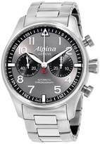 Alpina Startimer Pilot AL860GB4S6B Grey Dial Stainless Steel 44mm Mens Watch
