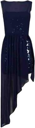 BCBGMAXAZRIA Navy Lace Dress for Women