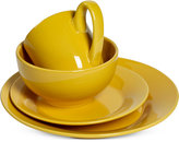 Tabletops Unlimited Corsica Collection 4-Pc. Yellow Place Setting