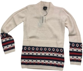 Just Cavalli Ecru Wool Knitwear for Women