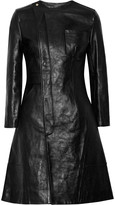 Alexander Wang Textured-leather coat