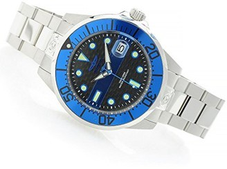 Invicta Men's 47mm Grand Diver Police Fire Automatic Stainless Steel Watch