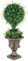 National Tree Co. Tea Leaf Ball Topiary in Urn