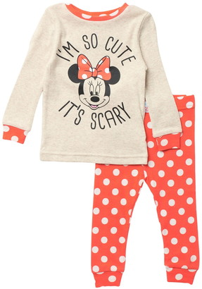 Komar Minnie Mouse 2-Piece Pajama Set