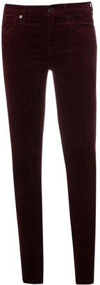 7 For All Mankind slim-fitted trousers