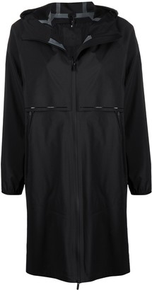 Moncler Mid-Length Hooded Coat