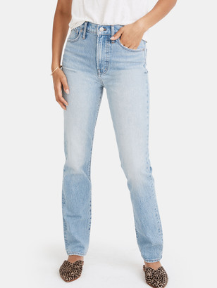 Madewell Perfect Vintage Light High Rise Jeans