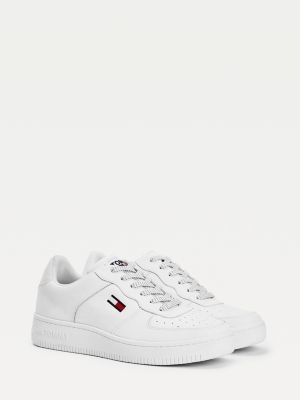 Tommy Hilfiger Fleck Lace Cupsole Trainers