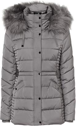 Wallis Grey Short Padded Coat