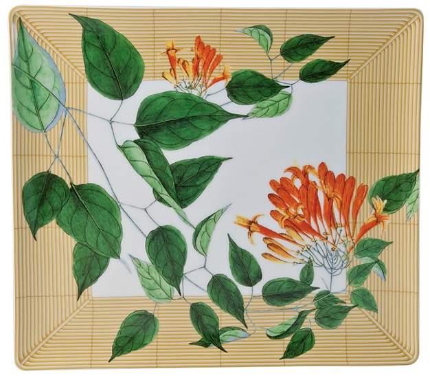 Bernardaud Jardin Indien Rectangular Tray