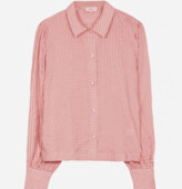 Thumbnail for your product : Margaux Peach Gingham Shirt