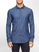 Calvin Klein Classic Fit Pindot Dobby Shirt