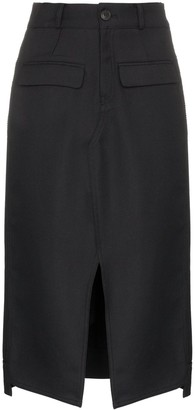 Sjyp High-Waisted Pencil Skirt