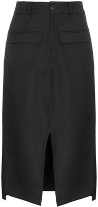 Sjyp high-waisted pencil skirt