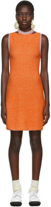Eckhaus Latta Orange Clavicle Dress