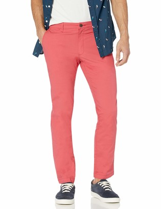 Goodthreads Amazon Brand Men's Straight-Fit Washed Stretch Chino Pant