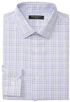 Banana Republic Camden Standard-Fit Non-Iron Stretch Grid Shirt