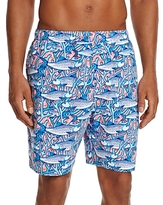 Vineyard Vines Bonefish Coral Bungalow Swim Trunks
