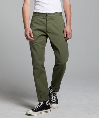 Todd Snyder Japanese Selvedge Chino in Olive
