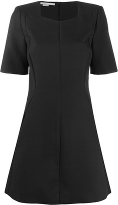 Stella McCartney Square-Neck Short Dress