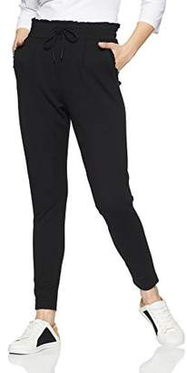 Only Women's Onlpoptrash Easy Frill Pant PNT Noos Trouser,(Size: Medium)