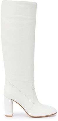 Gianvito Rossi Leather Knee-High 85mm Boots