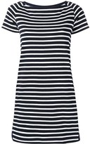 Sacai nautical striped shift dress