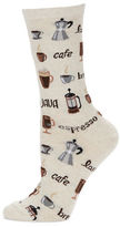 Hot Sox Cafe Printed Socks