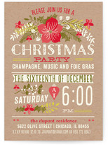 Minted Christmas Party Holiday Party Invitations