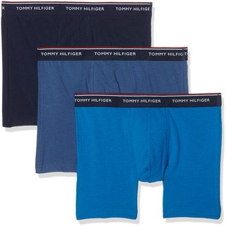 Tommy Hilfiger Men's Boxer brief premium ess Pack of 3 - Multicoloured - Small