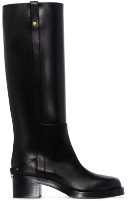 Valentino Troopup 55mm knee-high boots