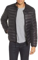 Andrew Marc Men's Lincoln Packable Down Moto Jacket