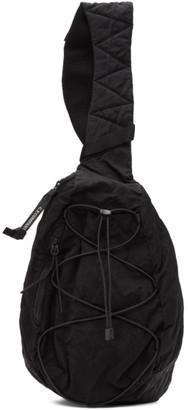 C.P. Company Black Nylon B. Crossbody Lens Backpack