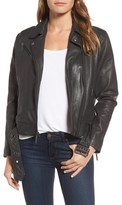 Kenneth Cole New York Women's Leather Moto Jacket