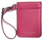 Marc Jacobs Women's Commuter Leather Card Case - Black