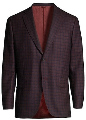 eidos Check Wool Jacket