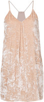 Alice + Olivia Alice+Olivia - tank dress - women - Silk/Polyester/Spandex/Elastane/Viscose - XS