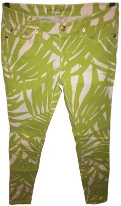 Michael Kors Multicolour Denim - Jeans Trousers