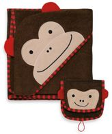 Skip Hop SKIP*HOP® Zoo Towel & Mitt Set in Monkey