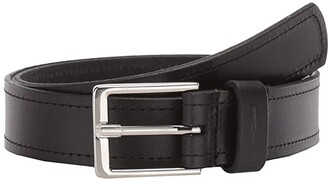 Shinola Detroit 1 1/4 Single Stitch Belt Harness (Black) Men's Belts