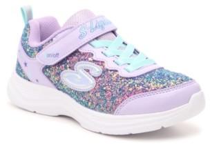 Skechers S Lights Glimmer Kicks Glitter N Glow Light-Up Sneaker - Kids'