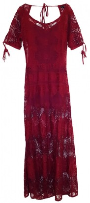 For Love & Lemons \N Red Lace Dresses