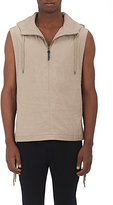"Robert Geller MEN'S ""THE HENRY"" HOODED VEST"
