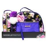 Models Prefer Rose Purple Weekender Set 3 pack